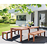 Buy Kettler Mojanda Rectangular 8 Seater Outdoor Dining Table Online at johnlewis.com