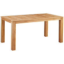 Buy Kettler Vancouver 6 Seater Outdoor Dining Table, FSC Teak Online at johnlewis.com