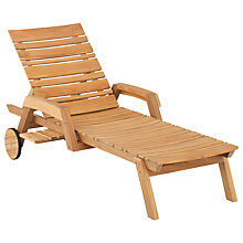 Buy Kettler Yukon FSC Outdoor Lounger Online at johnlewis.com