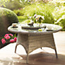 Buy KETTLER Round 6 Seater Synthetic Wicker Outdoor Dining Table Online at johnlewis.com