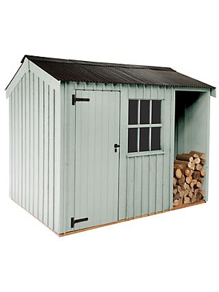 National Trust by Crane Blickling Garden Shed, 1.8 x 3.6m, FSC-Certified (Scandinavian Redwood)