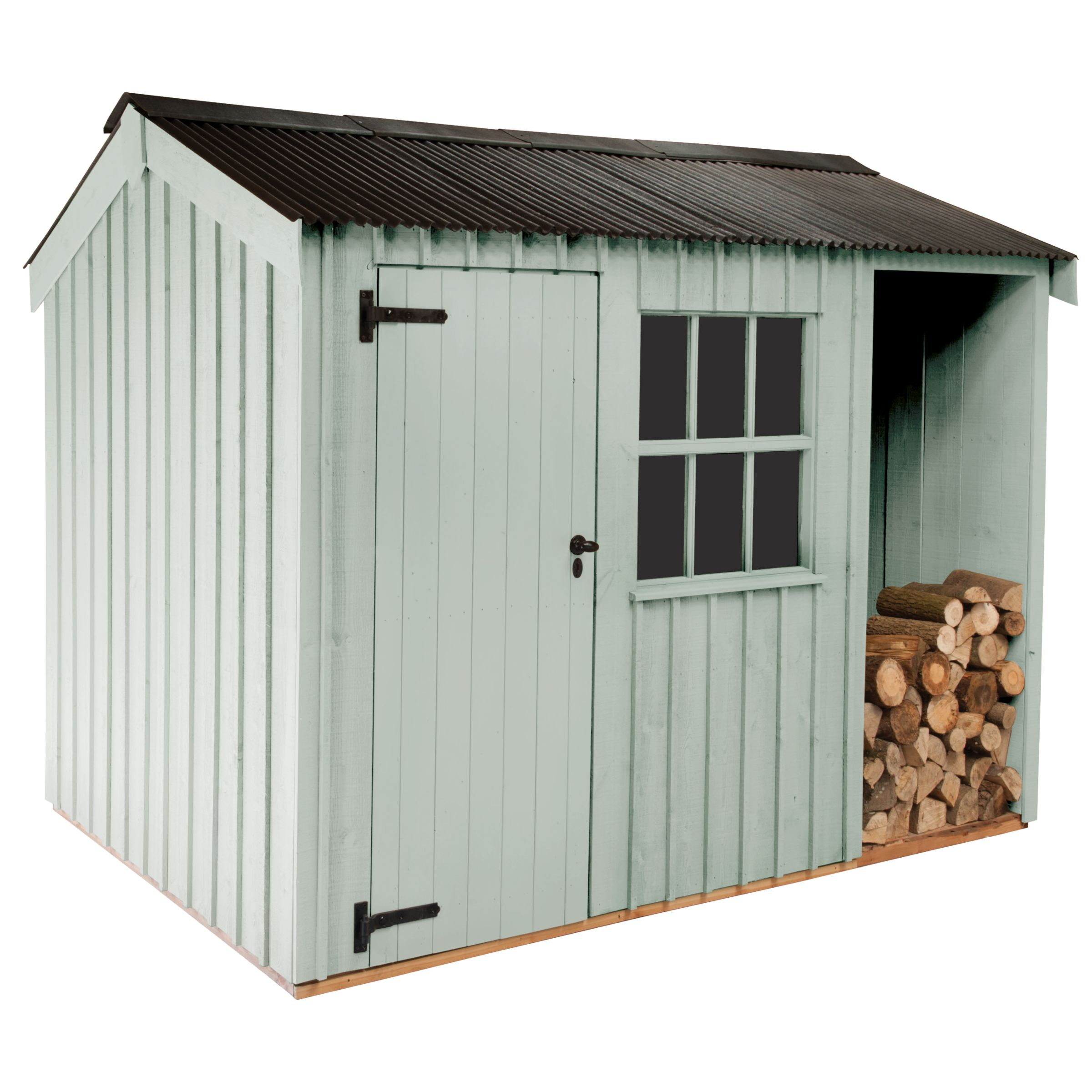 National Trust By Crane Blickling Fsc Garden Shed, 1.8x3.6m