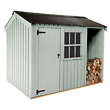 Buy National Trust by Crane Blickling FSC Garden Shed, 2.4 x 3.6m Online at johnlewis.com