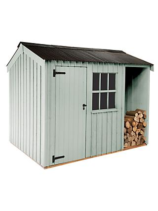 National Trust by Crane Blickling Garden Shed, 2.4 x 3.6m, FSC-Certified (Scandinavian Redwood)