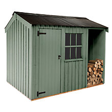 Buy National Trust by Crane Blickling Garden Shed, 2.4 x 3.6m Online at johnlewis.com