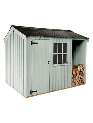National Trust by Crane Blickling Garden Shed, 2.4 x 3m, FSC-Certified (Scandinavian Redwood)