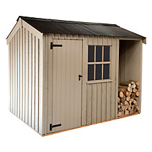 Buy National Trust by Crane Blickling Garden Shed, 2.4 x 3m Online at johnlewis.com