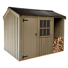 Buy National Trust by Crane Blickling FSC Garden Shed, 2.4 x 3m Online at johnlewis.com