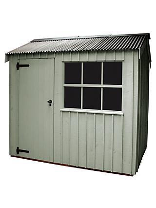 National Trust by Crane Felbrigg Garden Shed, 1.8 x 2.4m, FSC-Certified (Scandinavian Redwood)