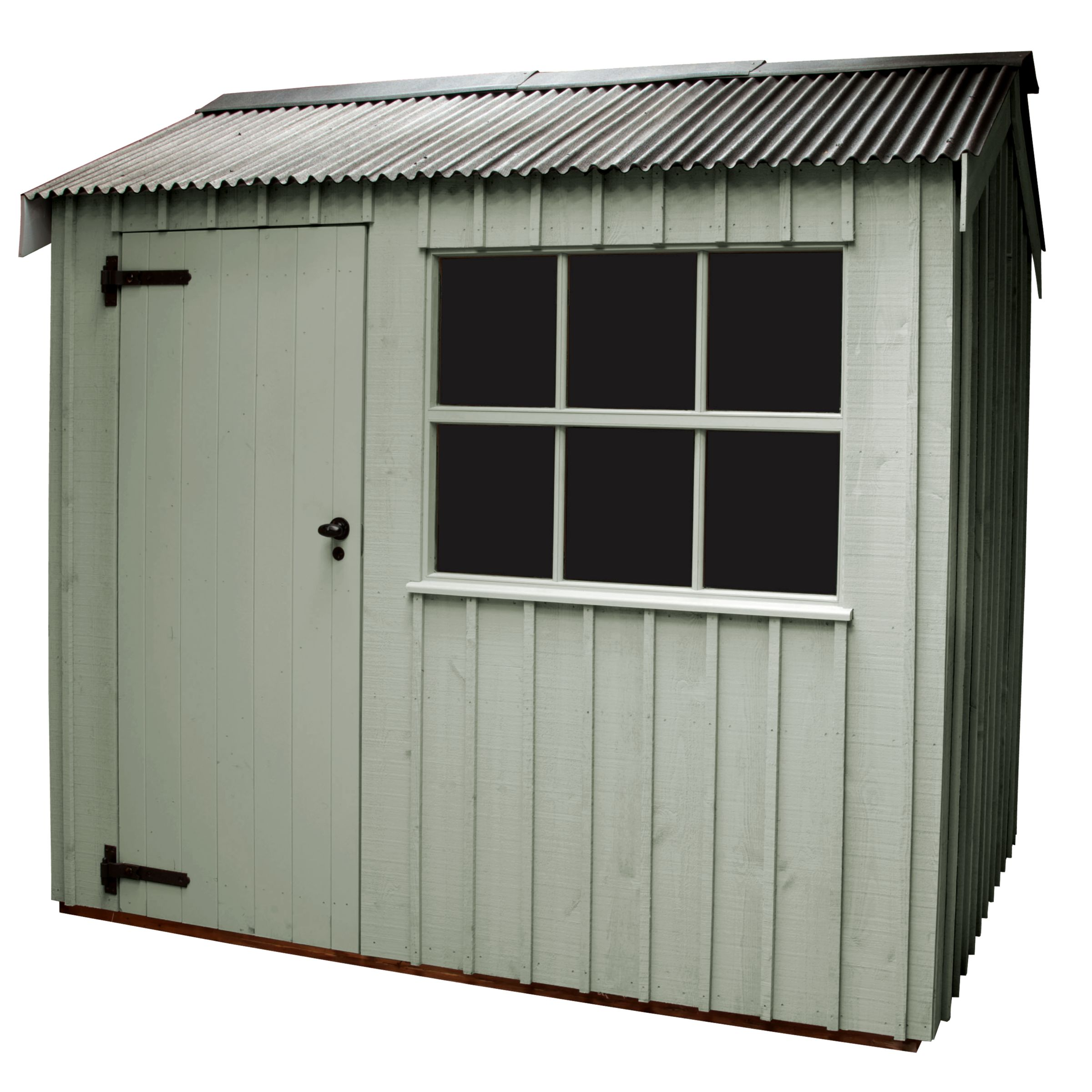National Trust By Crane Felbrigg Fsc Garden Shed, 1.8x3m