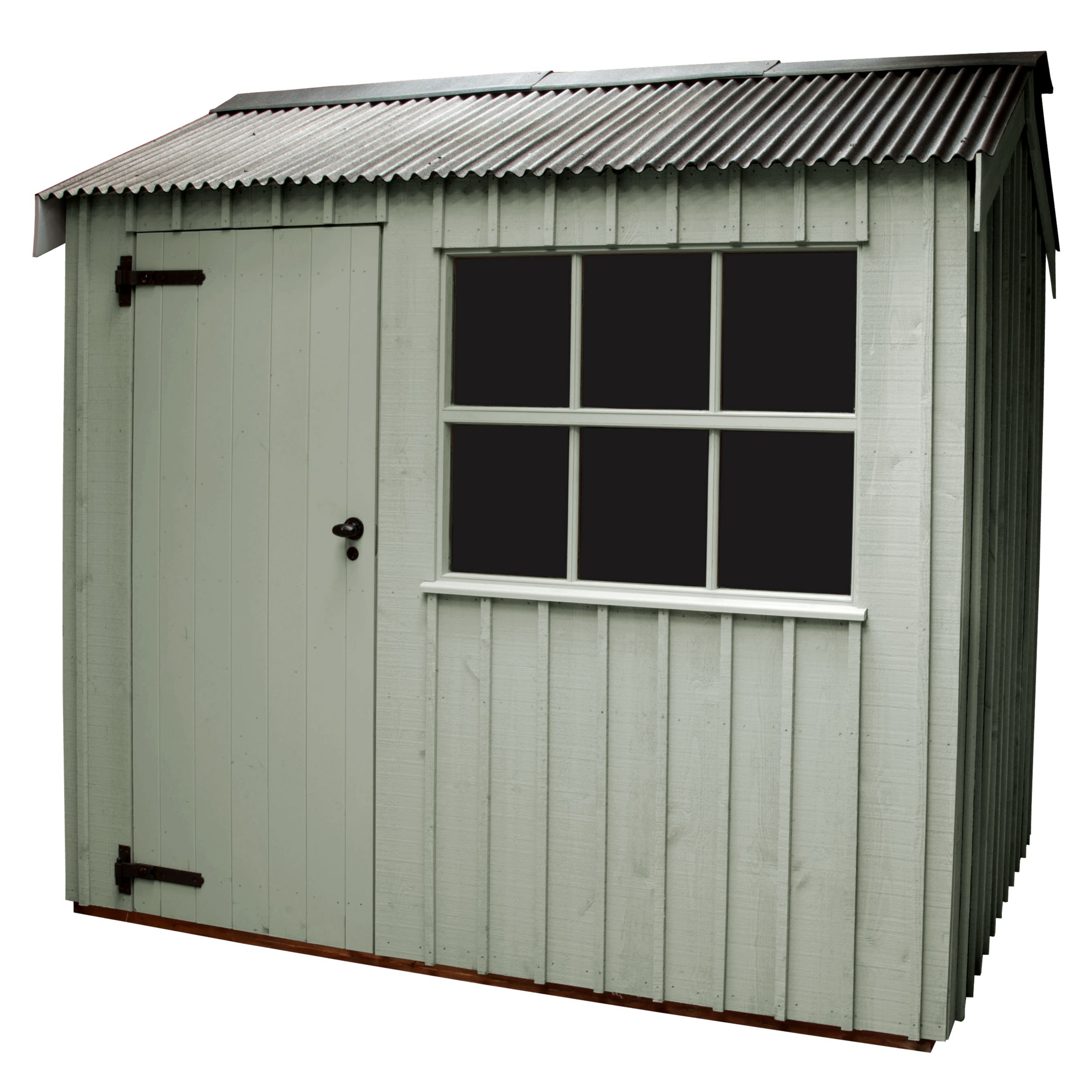 National Trust By Crane Felbrigg Fsc Garden Shed, 2.4x3m