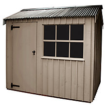 Buy National Trust by Crane Felbrigg FSC Garden Shed, 2.4 x 3m Online at johnlewis.com