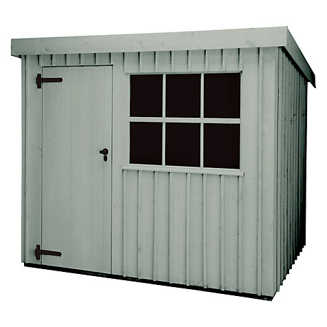 Buy National Trust by Crane Oxburgh Garden Shed, 1.8 x 2.4m Online at johnlewis.com