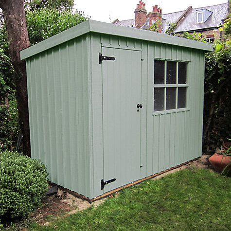 Buy national trust by crane oxburgh garden shed 1 8 x 2 for Garden shed qatar
