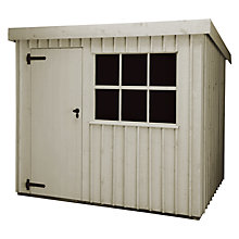 Buy National Trust by Crane Oxburgh FSC Garden Shed, 1.8 x 3m Online at johnlewis.com