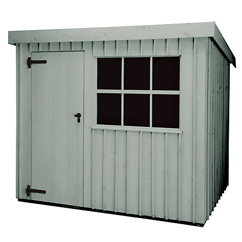 Buy National Trust by Crane Oxburgh FSC Garden Shed, 2.4 x 3m Online at johnlewis.com
