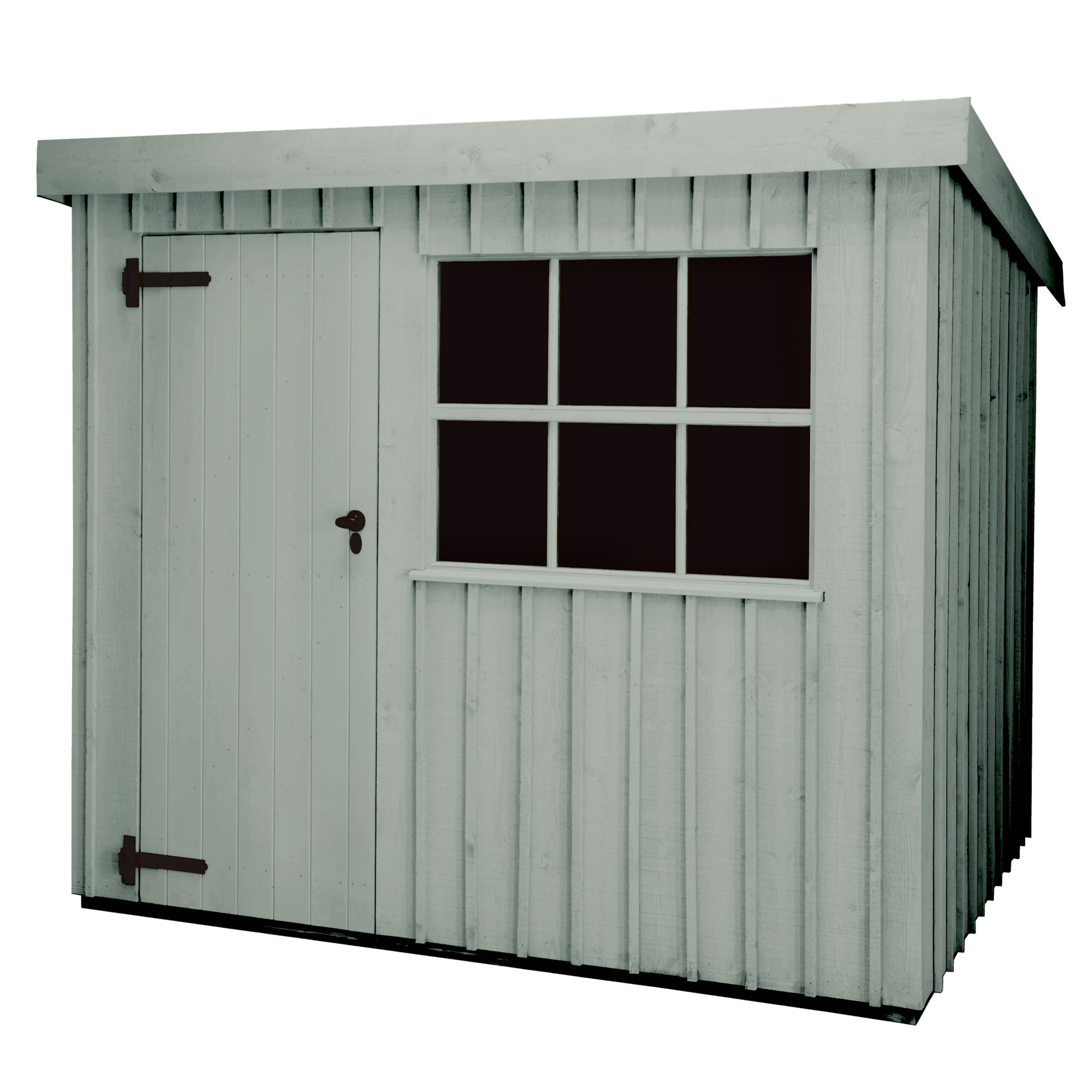 National Trust By Crane Oxburgh Fsc Garden Shed, 2.4x3m