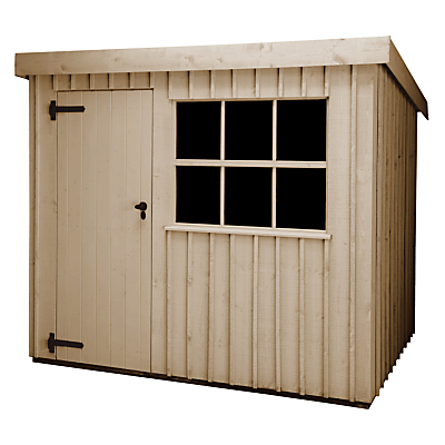 National Trust by Crane Oxburgh Garden Shed, 2.4 x 3m