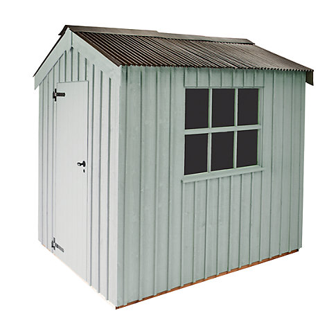 Buy National Trust by Crane Peckover Garden Shed, 1.8 x 3m Online at johnlewis.com