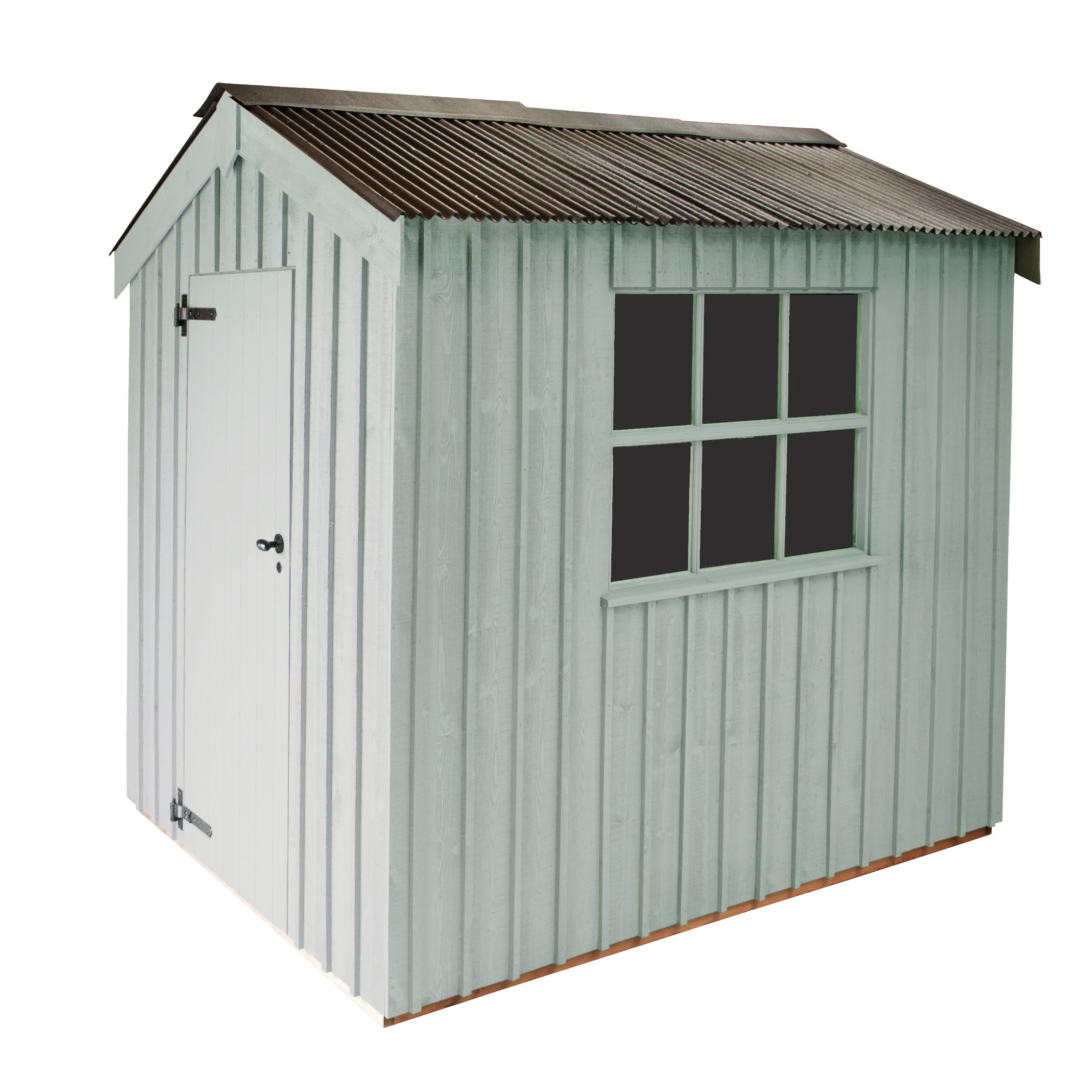 National Trust By Crane Peckover Fsc Garden Shed, 1.8x3m