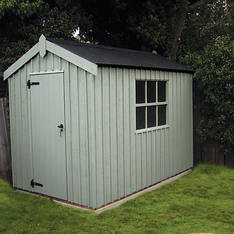 Buy National Trust by Crane Peckover FSC Garden Shed, 1.8x3m Online at johnlewis.com