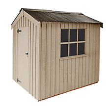 Buy National Trust by Crane Peckover Garden Shed, 2.4 x 3m Online at johnlewis.com