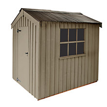 Buy National Trust by Crane Peckover FSC Garden Shed, 2.4 x 3m Online at johnlewis.com