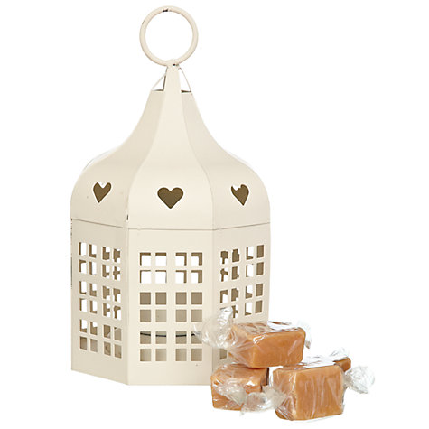 Buy Heart Lantern With Fudge, 100g Online at johnlewis.com