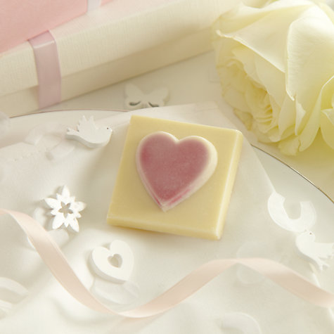 Buy Choc on Choc Heart Favour, Pink, 22g Online at johnlewis.com