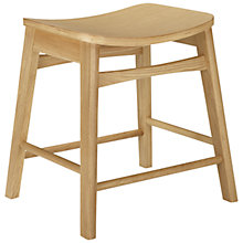 Buy House by John Lewis Ken Low Stool, Oak Online at johnlewis.com