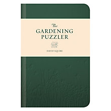 Buy The Gardening Puzzler Online at johnlewis.com