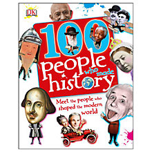 Buy 100 People Who Made History Online at johnlewis.com
