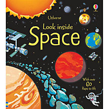 Buy Usborne Look Inside Space Book Online at johnlewis.com