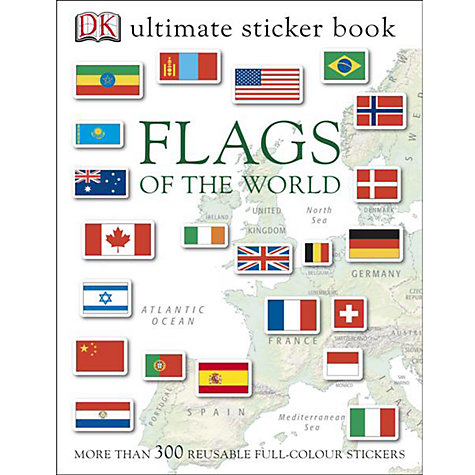 Buy Flags of the World Ultimate Sticker Book Online at johnlewis.com