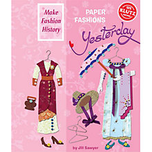 Buy Klutz Paper Fashions Yesterday Online at johnlewis.com