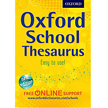Buy Oxford School Thesaurus Online at johnlewis.com