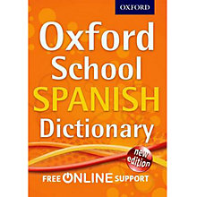 Buy Oxford School Spanish Dictionary Online at johnlewis.com