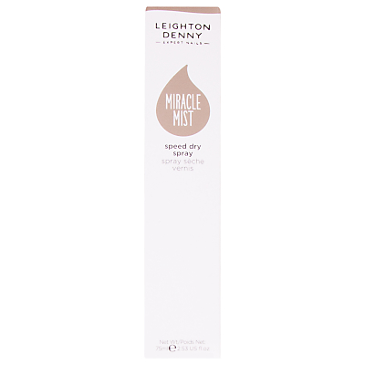 shop for Leighton Denny Miracle Mist Speed Drying Nail Polish Spray, 75ml at Shopo