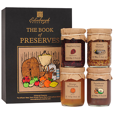 Buy Edinburgh Preserves The Book Of Preserves Gift Online at johnlewis.com