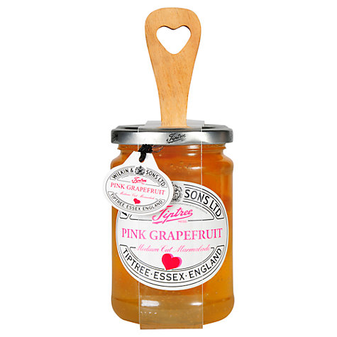 Buy Tiptree Pink Grapefruit Marmalade With A Spoon, 340g Online at johnlewis.com