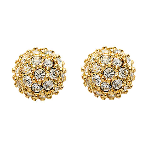 Buy Carolee Crystal Pave Stud Earrings Online at johnlewis.com