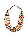 Andean Collection Acai Necklace, Multi