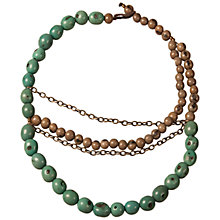 Buy Andean Collection Brooklyn Beads Necklace Online at johnlewis.com