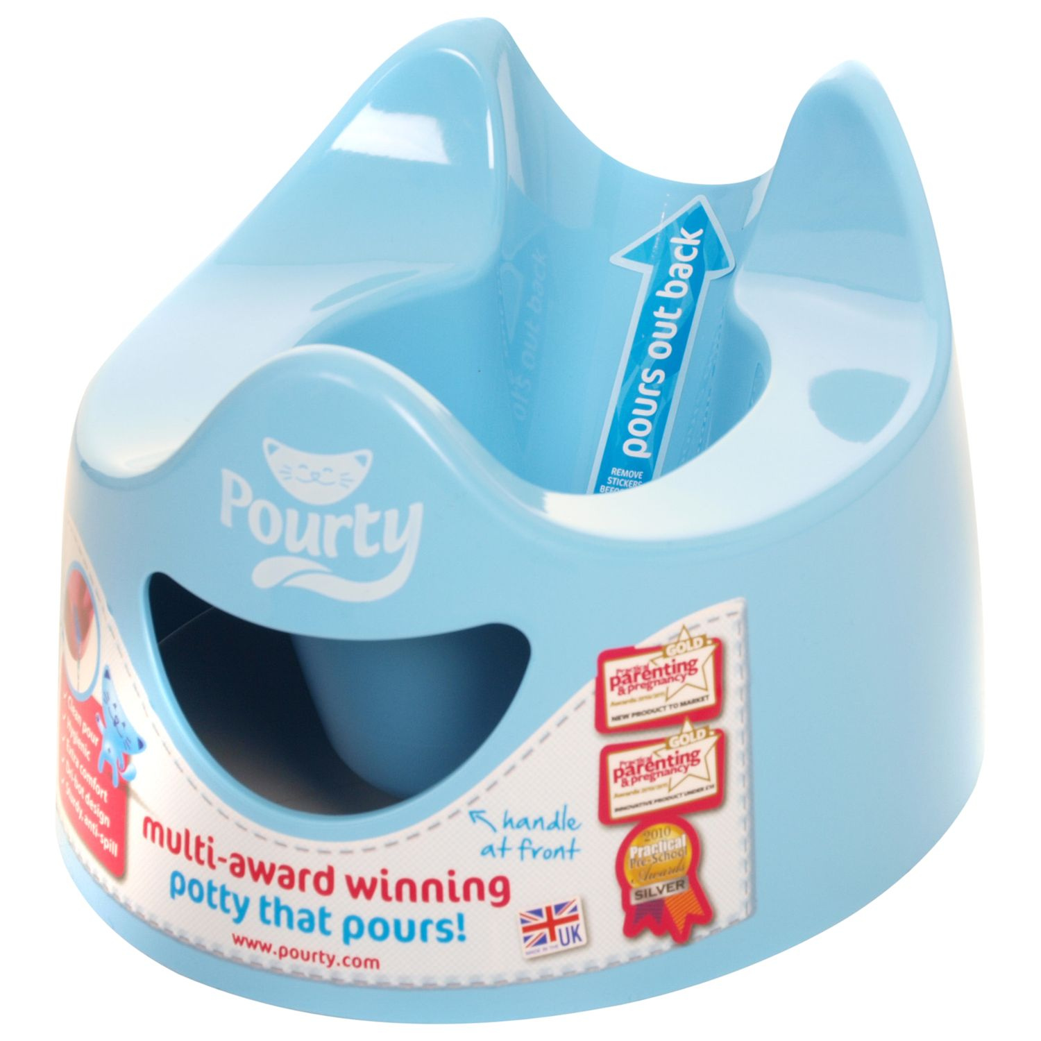 Pourty Pourty Potty, Blue