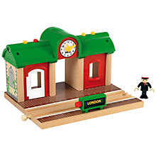Buy Brio Record and Play Train Station Online at johnlewis.com