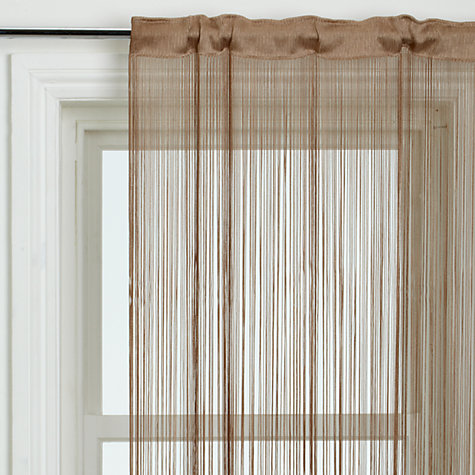 Buy John Lewis String Curtain Voile Panel Online at johnlewis.com