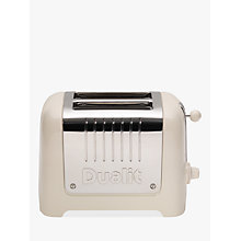 Buy Dualit 2-Slice Toaster with Warming Rack Online at johnlewis.com