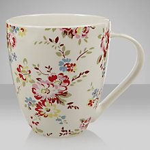 Buy Cath Kidston Crush Mug, Bleached Flowers Online at johnlewis.com
