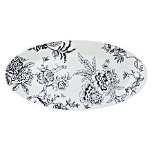 Buy Jasper Conran for Wedgwood Chinoiserie Oval Platter, Small, Blue Online at johnlewis.com