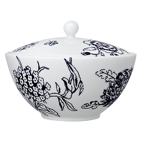 Buy Jasper Conran for Wedgwood Chinoiserie Covered Sugar Pot, Blue Online at johnlewis.com
